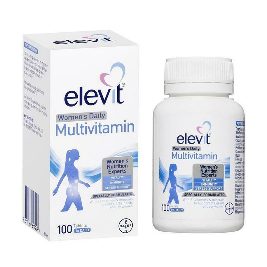 Elevit Women's Multi - Vitamin Tổng Hợp Hỗ Trợ Phụ Nữ Đang Nuôi Con