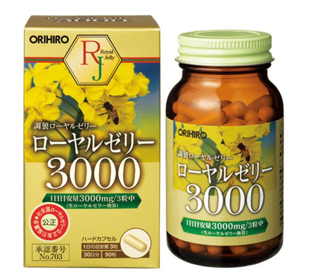 Sữa Ong Chúa Orihiro Royal Jelly 3000mg Nhật Bản