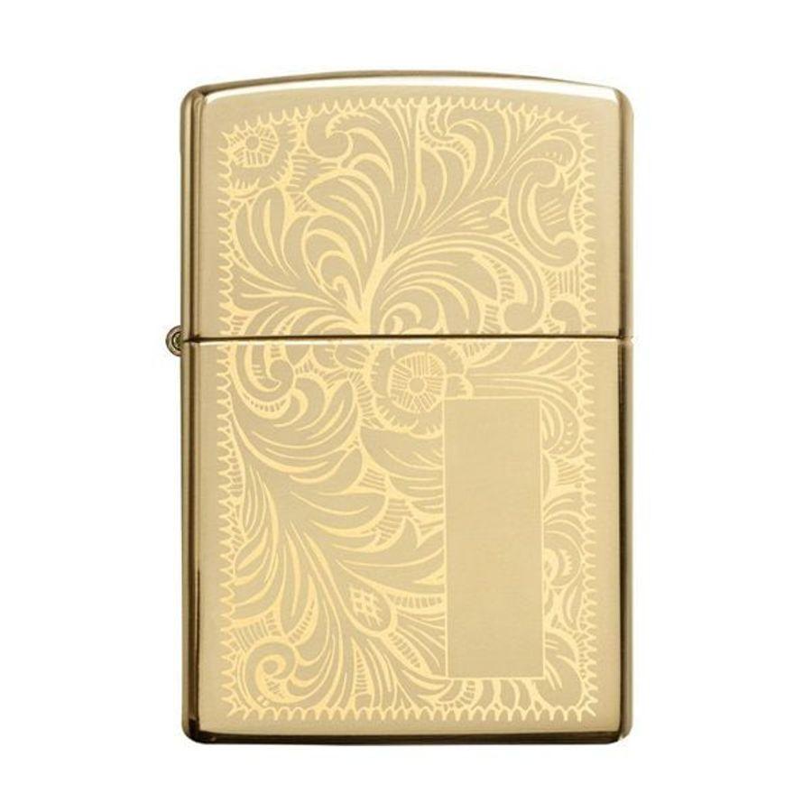 Zippo Venetian Brass 352B Đồng Vàng Hoa Văn Ý
