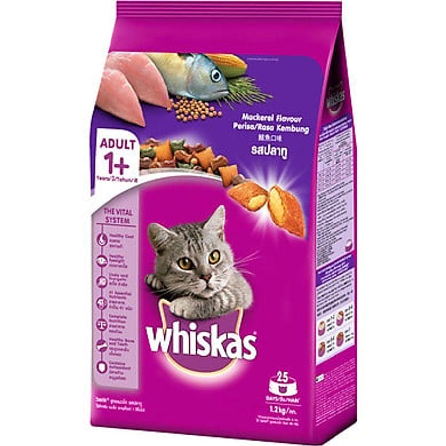 Thức Ăn Cho Mèo Whiskas Vị Cá Thu MackerelFlavour