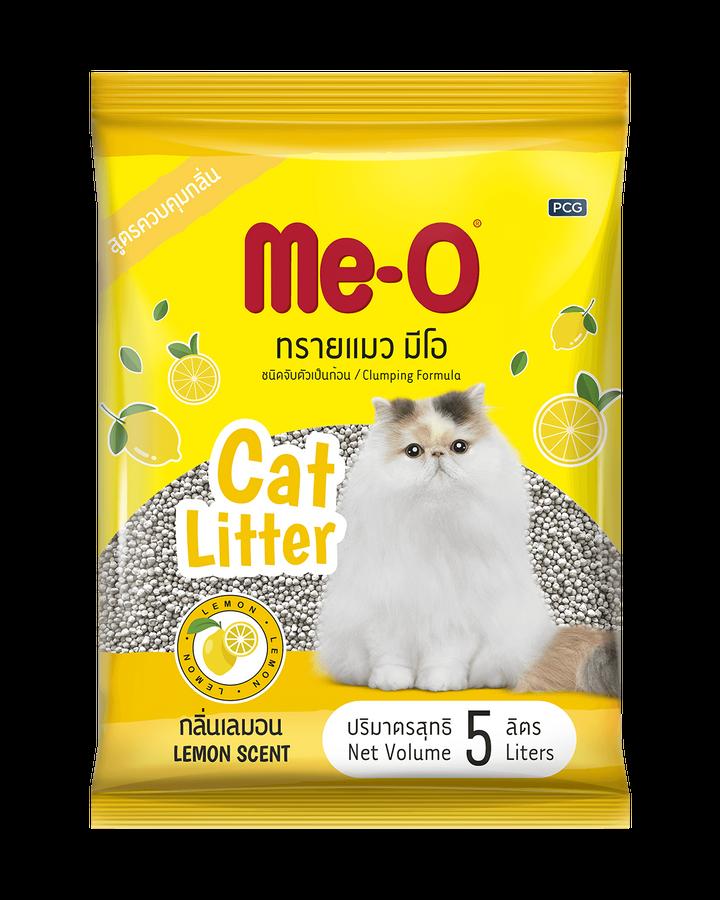 Cát Vệ Sinh Me-O Cat Litter Lemon Scent Hỗ Trợ Khử Mùi