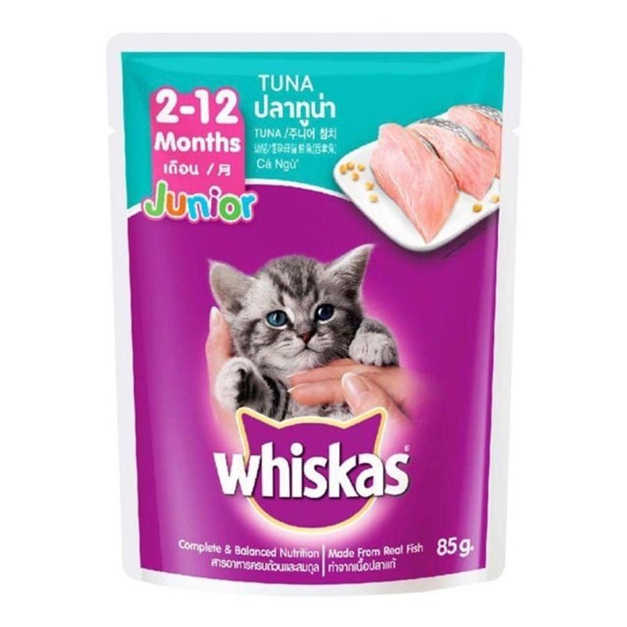 Pate Cho Mèo Con Whiskas Từ 2 Tháng Tuổi