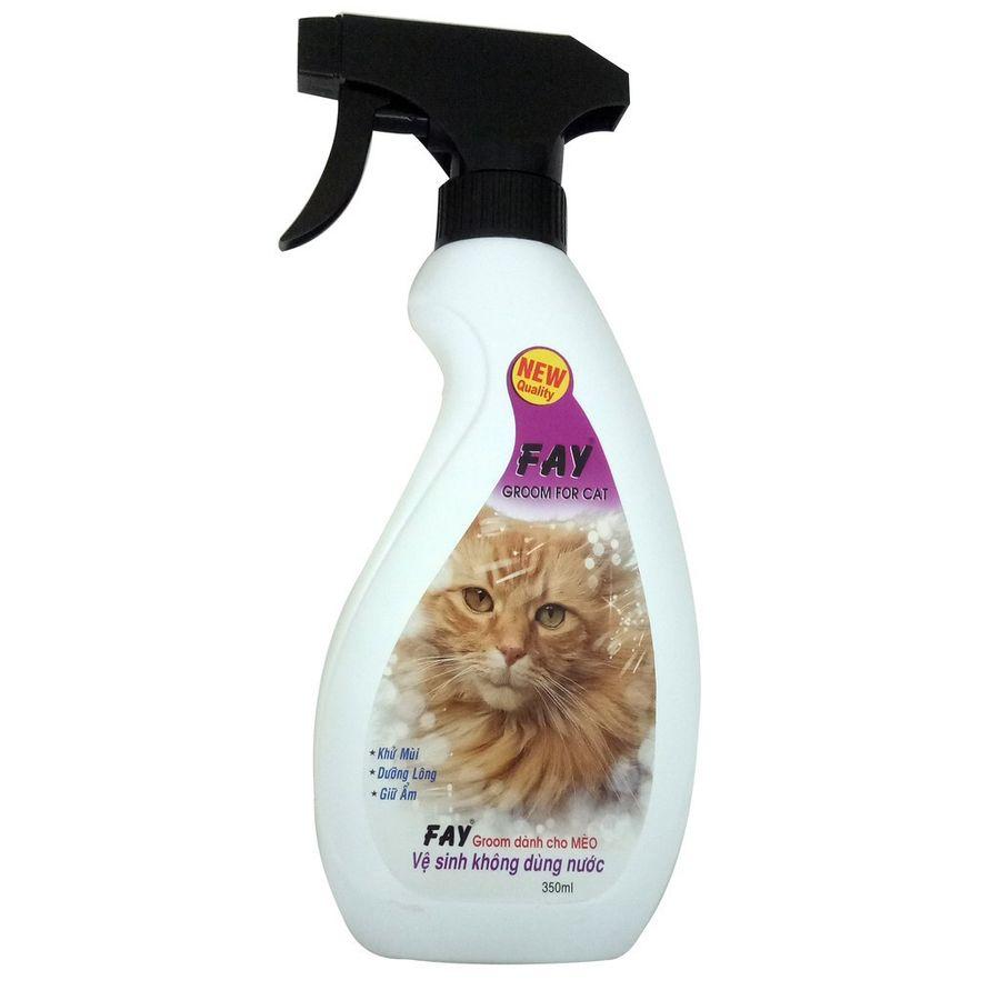 Xịt Khử Mùi, Vệ Sinh Cho Mèo Fay Groom For Cat