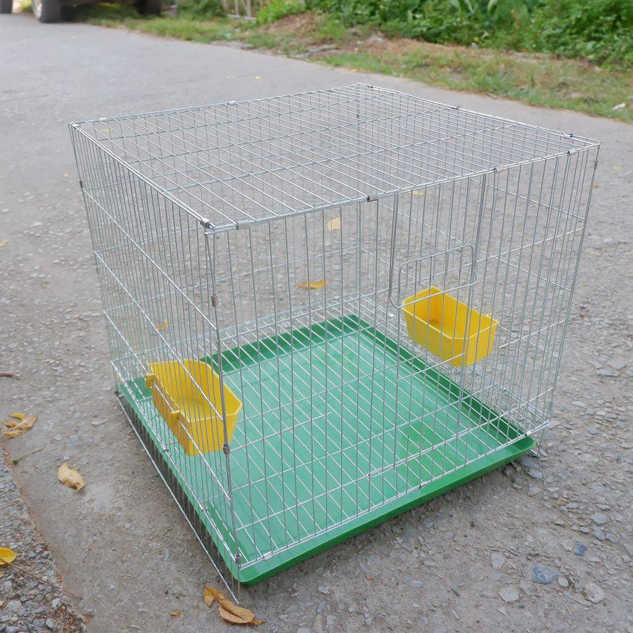 Lồng Chim Cảnh Lắp Ghép Sơn Tĩnh Điện 50x50x50cm