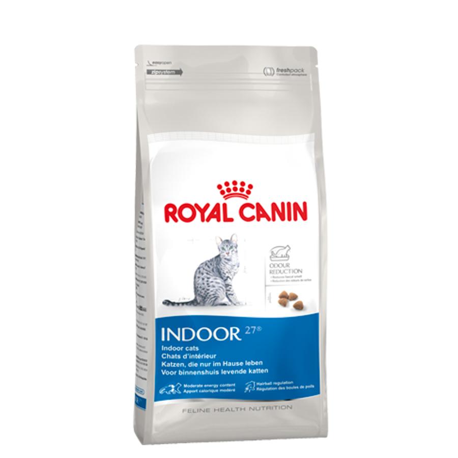 [SIÊU KHUYẾN MÃI]- Combo 1 Thức Ăn Hạt Royal Canin Indoor 27 2kg Và 2 Pate 85g Cho Mèo