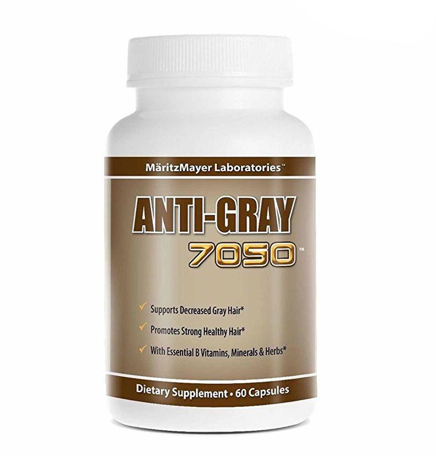 Viên Hỗ Cải Thiện Tóc Bạc Sớm Anti Gray Hair 7050