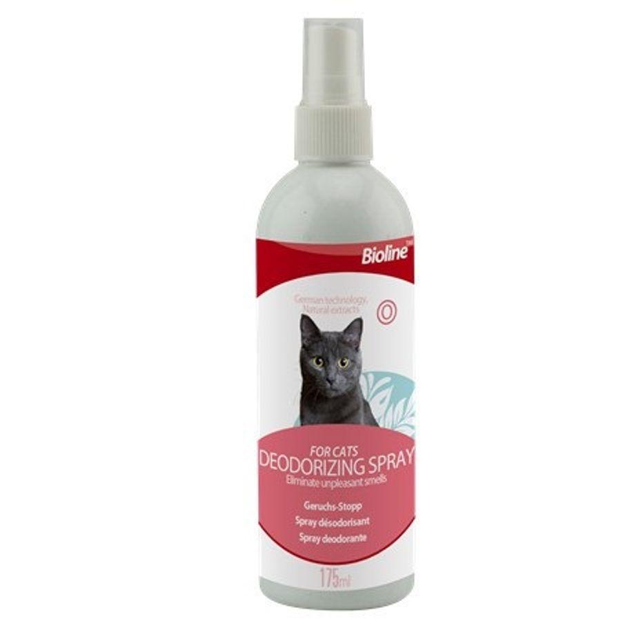 Xịt Khử Mùi Cho Mèo Bioline Deodorant Spray For Cat