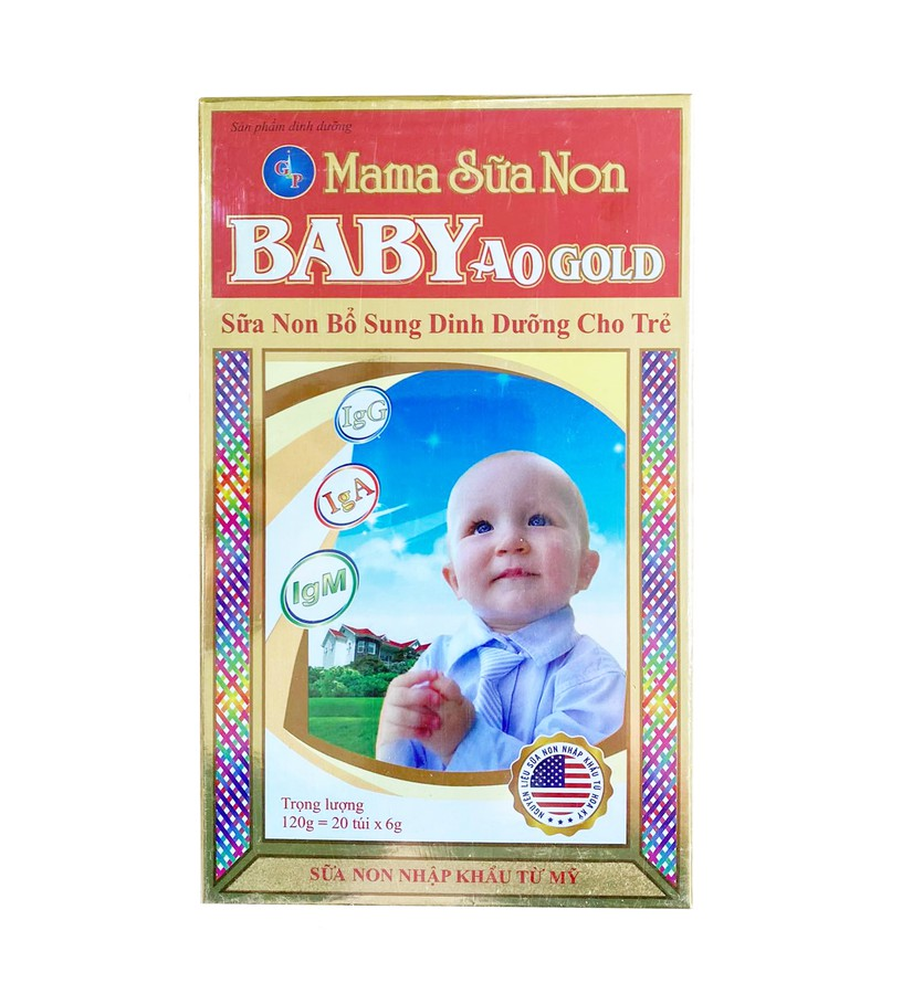 Mama Sữa Non Baby A0 Gold Hỗ Trợ Trẻ Biếng Ăn