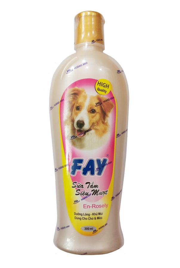 Sữa Tắm Dưỡng Lông, Khử Mùi Cho Chó Mèo Fay En-Rosely
