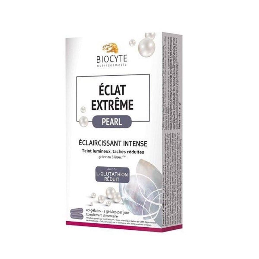 Viên Uống Biocyte Eclat Extreme Pearl Hỗ Trợ Giảm Nám, Trắng Da