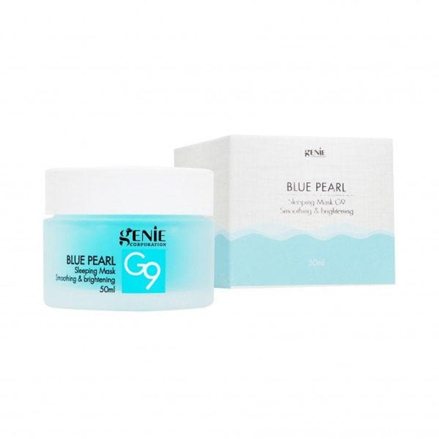Mặt Nạ Ngủ Cấp Nước Dưỡng Sáng Da Genie Blue Pearl G9