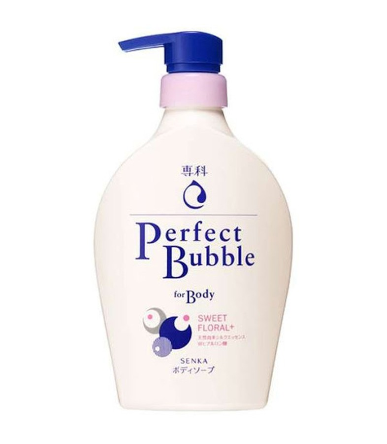 Sữa Tắm Shiseido Perfect Bubble Dưỡng Ẩm Trắng Da