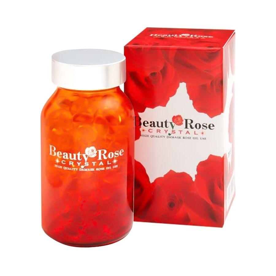 Viên Uống Thơm Cơ Thể Beauty Rose Crystal Nhật Bản