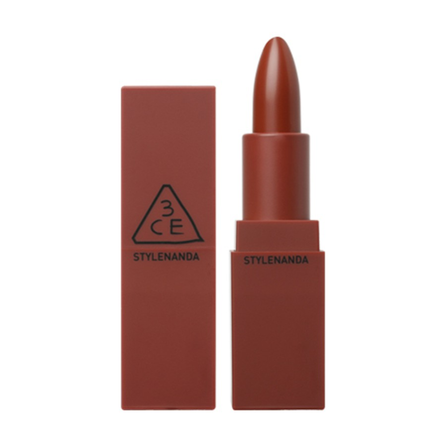 Son Thỏi 3CE Matte Lip Color 909 Smoked Rose Đỏ Gạch