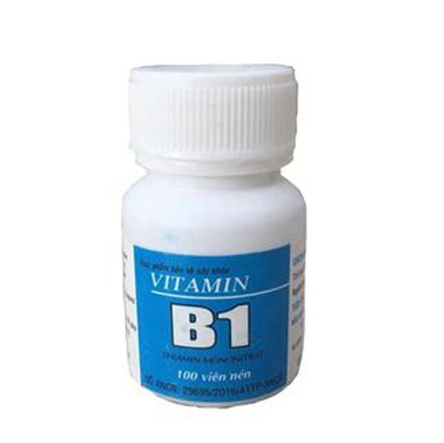 Viên Uống Vitamin B1 Đại Y Lọ 100 Viên