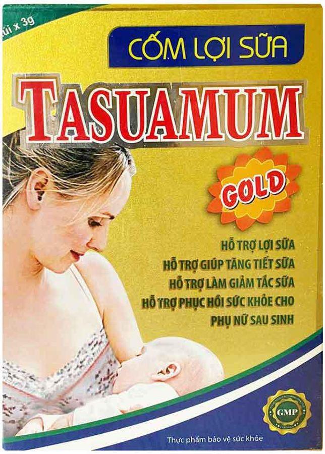 Cốm Lợi Sữa Tasuamum Gold Cho Phụ Nữ Sau Sinh 30 Gói