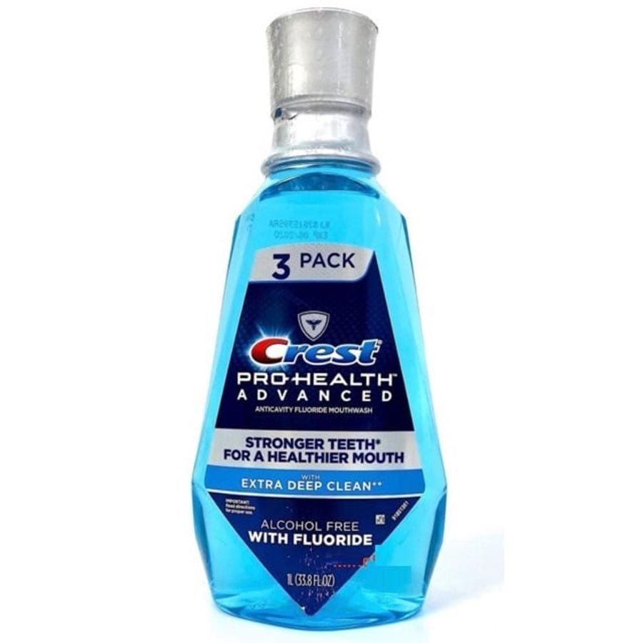 Nước Súc Miệng Crest Pro-Health Advanced Mouthwash 1 Lít