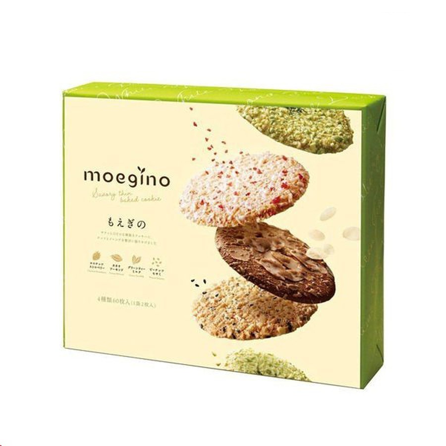 Bánh Quy Moegino Nhật Bản Cao Cấp Giòn Tan Nhiều Vị