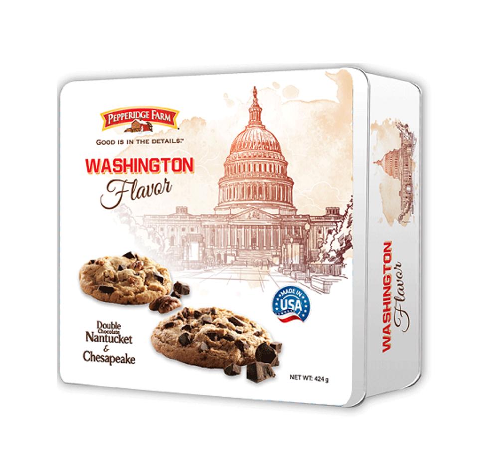 Bánh Pepperidge Farm Washington Flavor 424g Hộp Thiếc