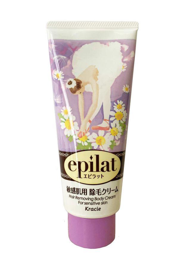 Kem Tẩy Lông Kracie Epilat Hair Removing Body Cream