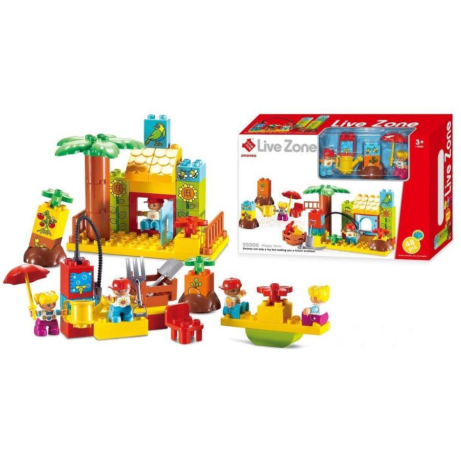 Bộ Đồ Chơi Lắp Ghép Nông Trại Hạnh Phúc Toys House 55006
