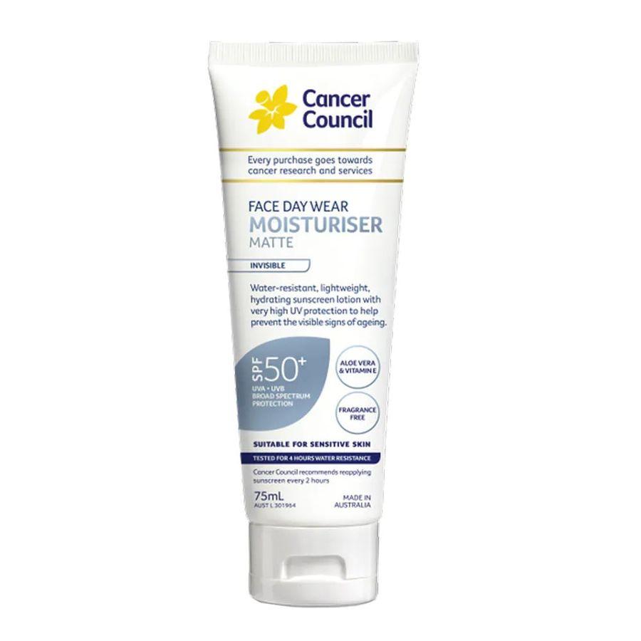 Kem Chống Nắng Chống Nước Cancer Council Face Day Moisturizer
