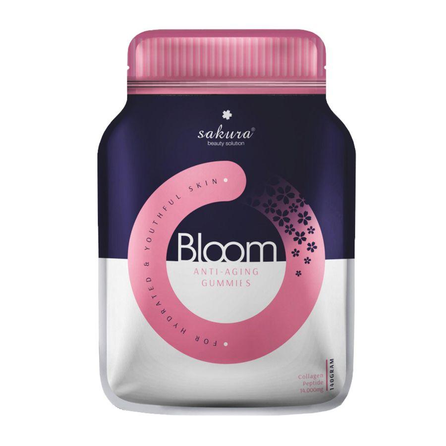 Kẹo Collagen Sakura Bloom Anti - Aging Gummies Nhật Bản