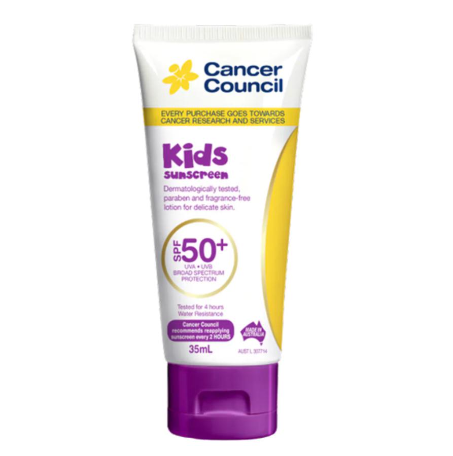 Kem Chống Nắng Cancer Council Kids SPF50+ Cho Bé