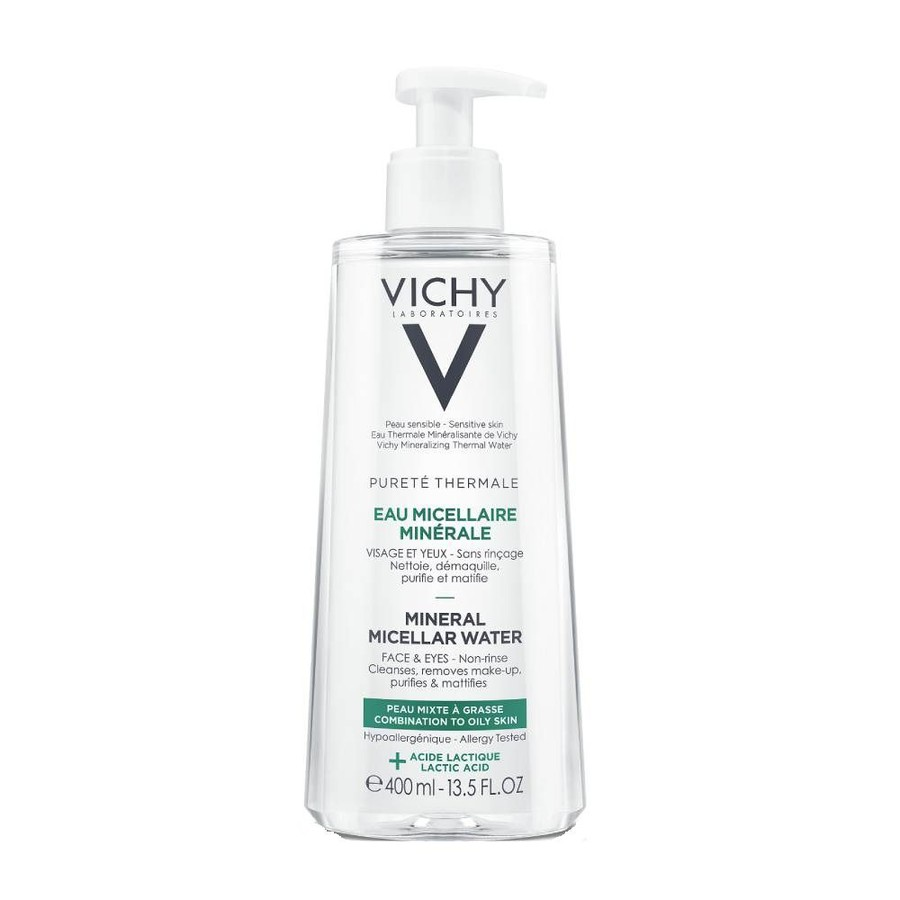 Nước Tẩy Trang Vichy Pureté Thermale Mineral Micellar Water