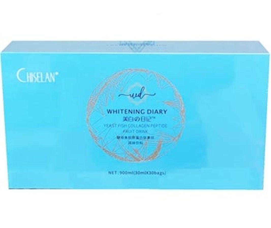 Nước Collagen Chiselan Whitening Diary Hỗ Trợ Trắng Da, Mờ Nám