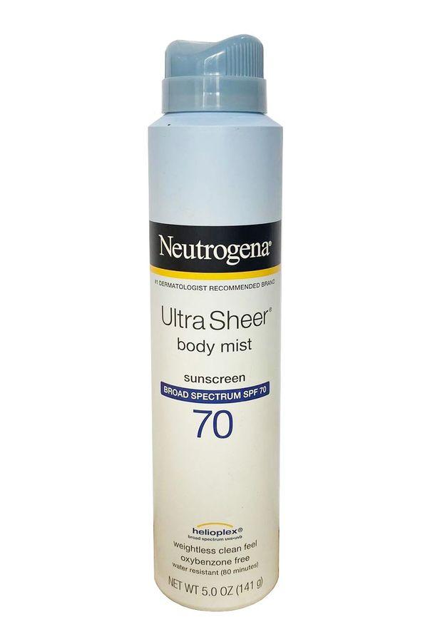 Xịt Chống Nắng Neutrogena Ultra Sheer Body Mist SPF70