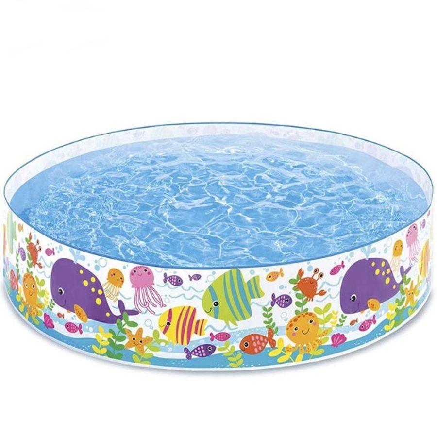 Bể Bơi Phao Lắp Dựng Hình Đại Dương Cho Bé Intex 56452
