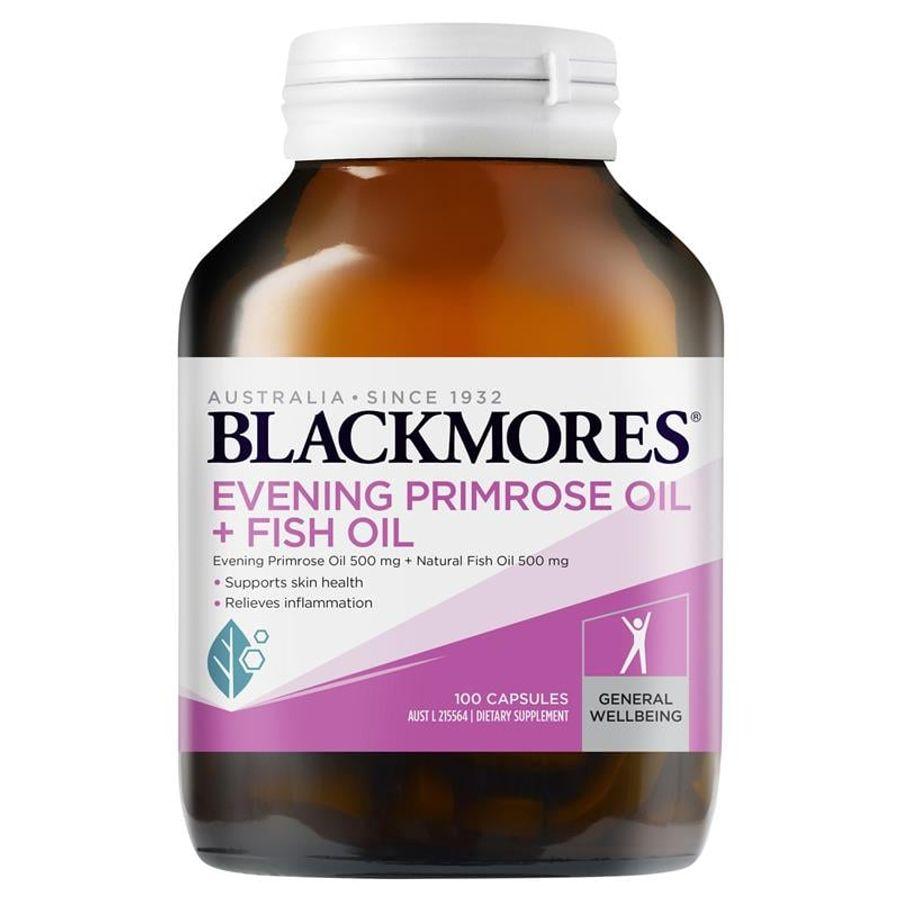 Tinh Dầu Hoa Anh Thảo Kết Hợp Dầu Cá Blackmores Chính Hãng