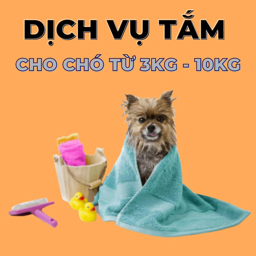 Voucher Dịch Vụ Tắm Cho Chó Từ 3 – 10kg Chuyên Nghiệp
