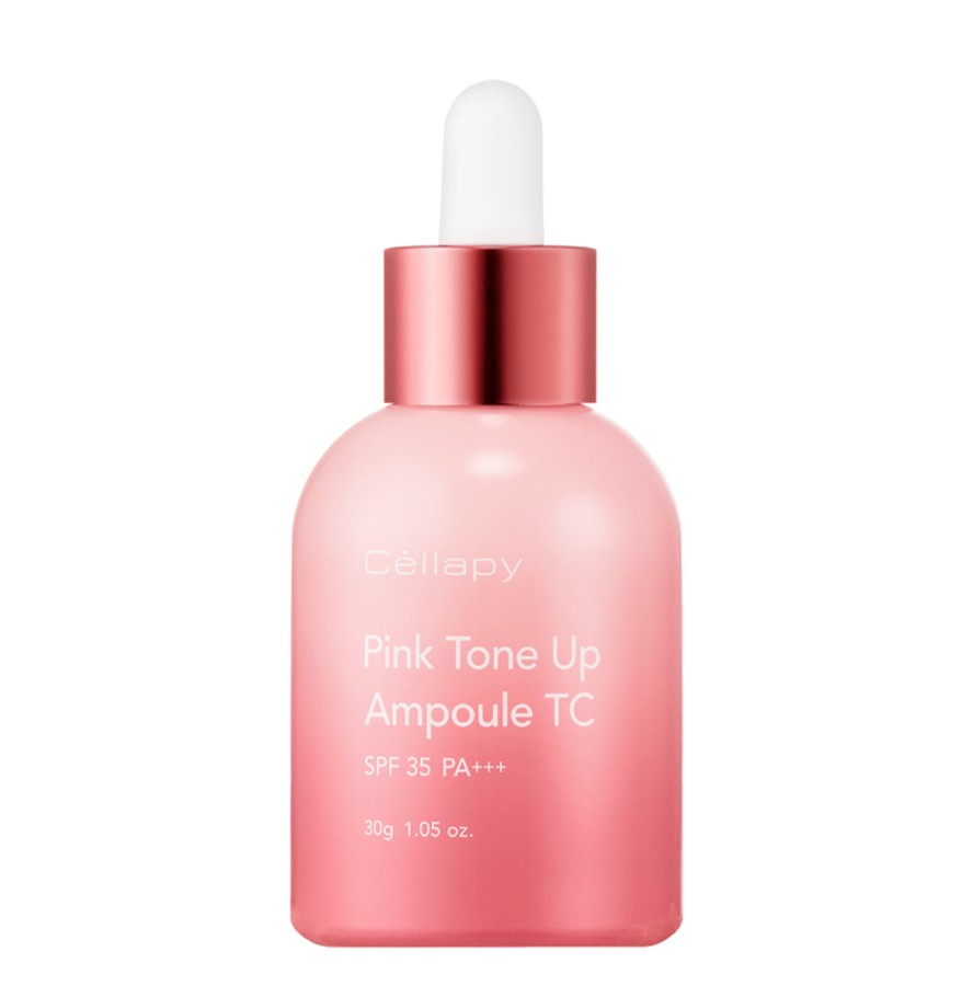 Serum Chống Nắng Trắng Da Cellapy Pink Tone Up Ampoule