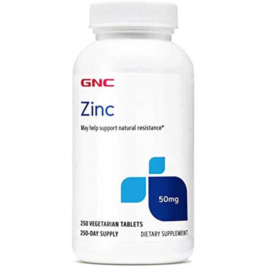 Viên Uống Hỗ Trợ Bổ Sung Kẽm GNC Zinc 50mg Của Mỹ