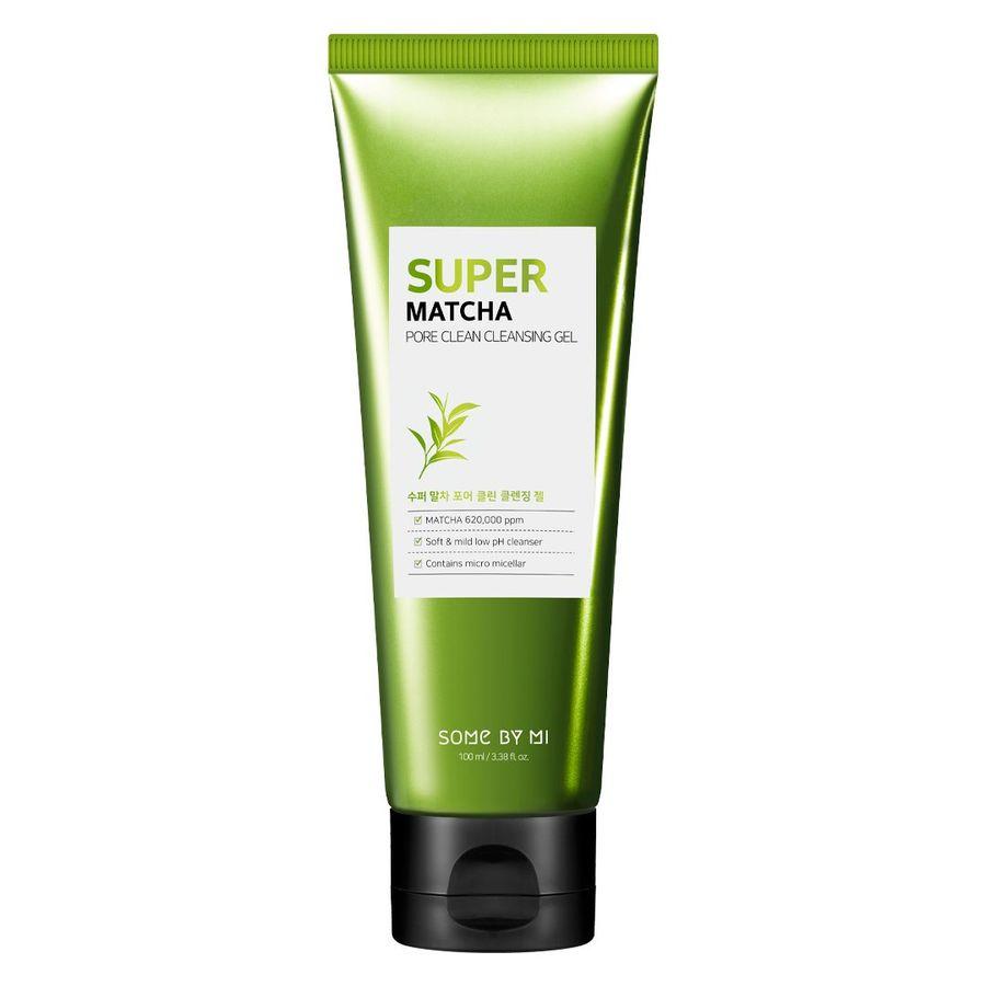 Sữa Rửa Mặt Kiềm Dầu Some By Mi Super Matcha Pore Clean Cleansing Gel