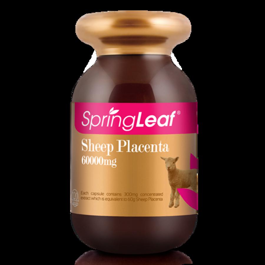 Viên Uống Nhau Thai Cừu Spring Leaf Sheep Placenta Của Úc