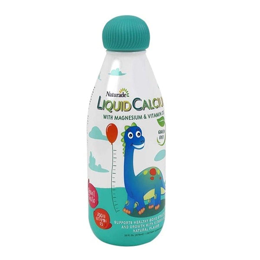 Canxi Nước Cho Bé Naturade Liquid Calcium Magnesium & Vitamin D3
