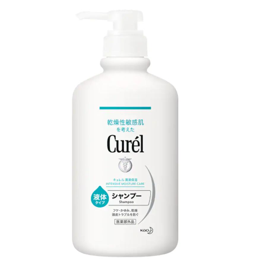 Dầu Gội Dưỡng Ẩm Tóc Và Da Đầu Curél Intensive Moisture Care Shampoo