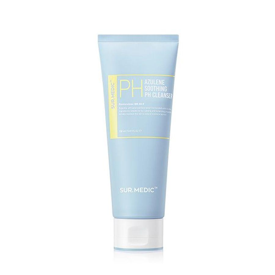 Sữa Rửa Mặt Cấp Ẩm Sur.Medic Azulene Soothing PH Cleanser