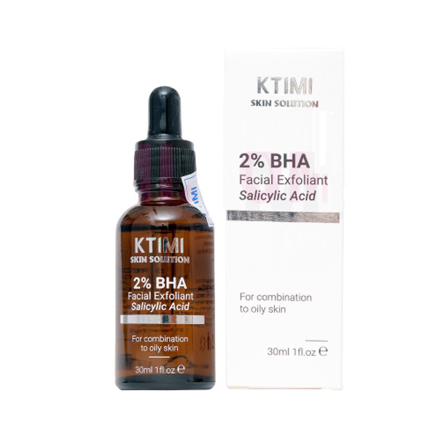 Tẩy Da Chết Da Mụn Ktimi 2% BHA Salicylic Acid