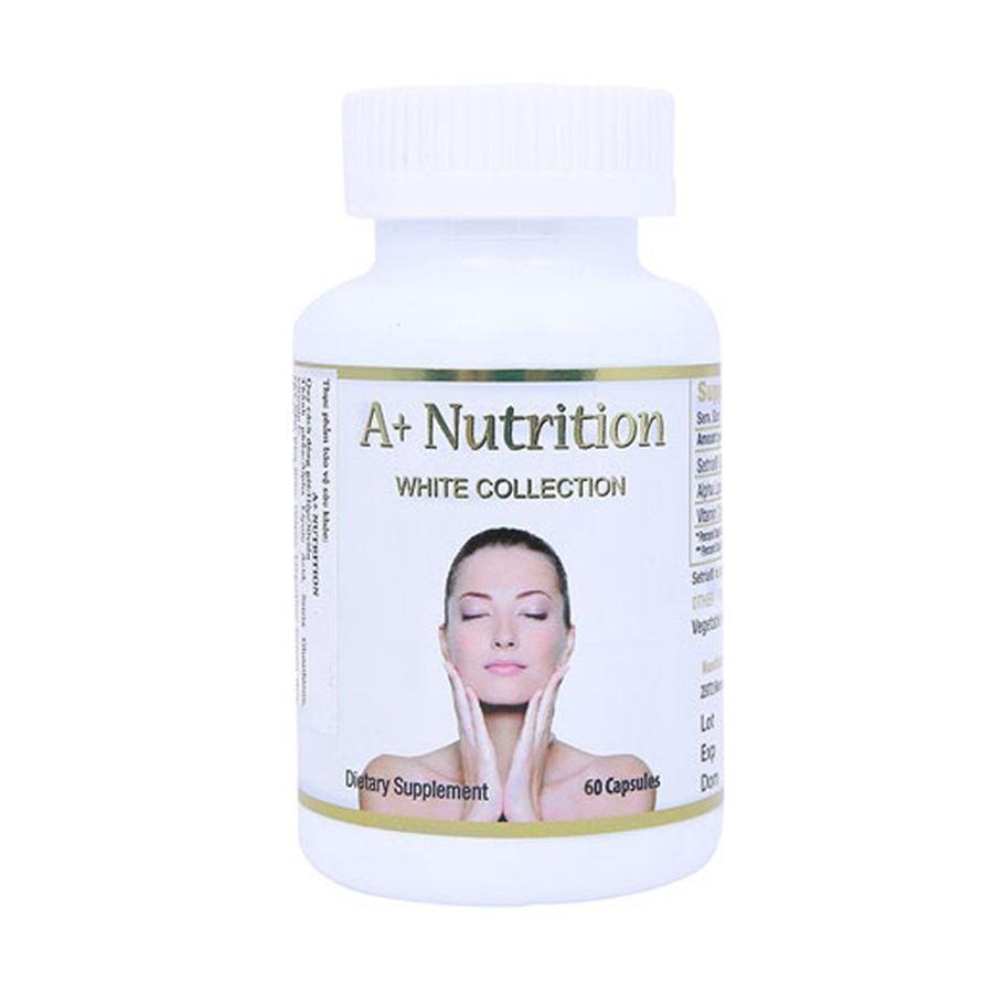 Viên Uống Hỗ Trợ Trắng Da A+ Nutrition White Collection