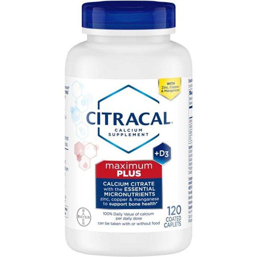 Viên Uống Bổ Sung Canxi Citracal Maximum Calcium Citrate +D3