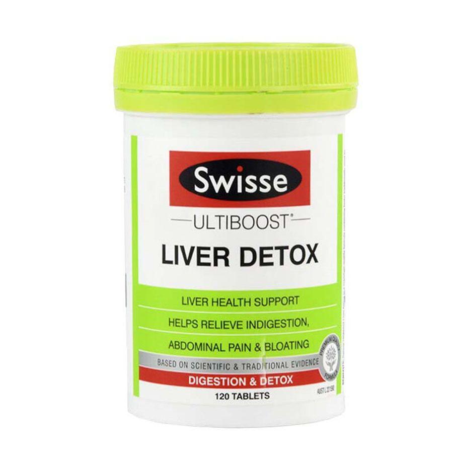 Viên Uống Hỗ Trợ Thải Độc Gan Swisse Liver Detox Úc