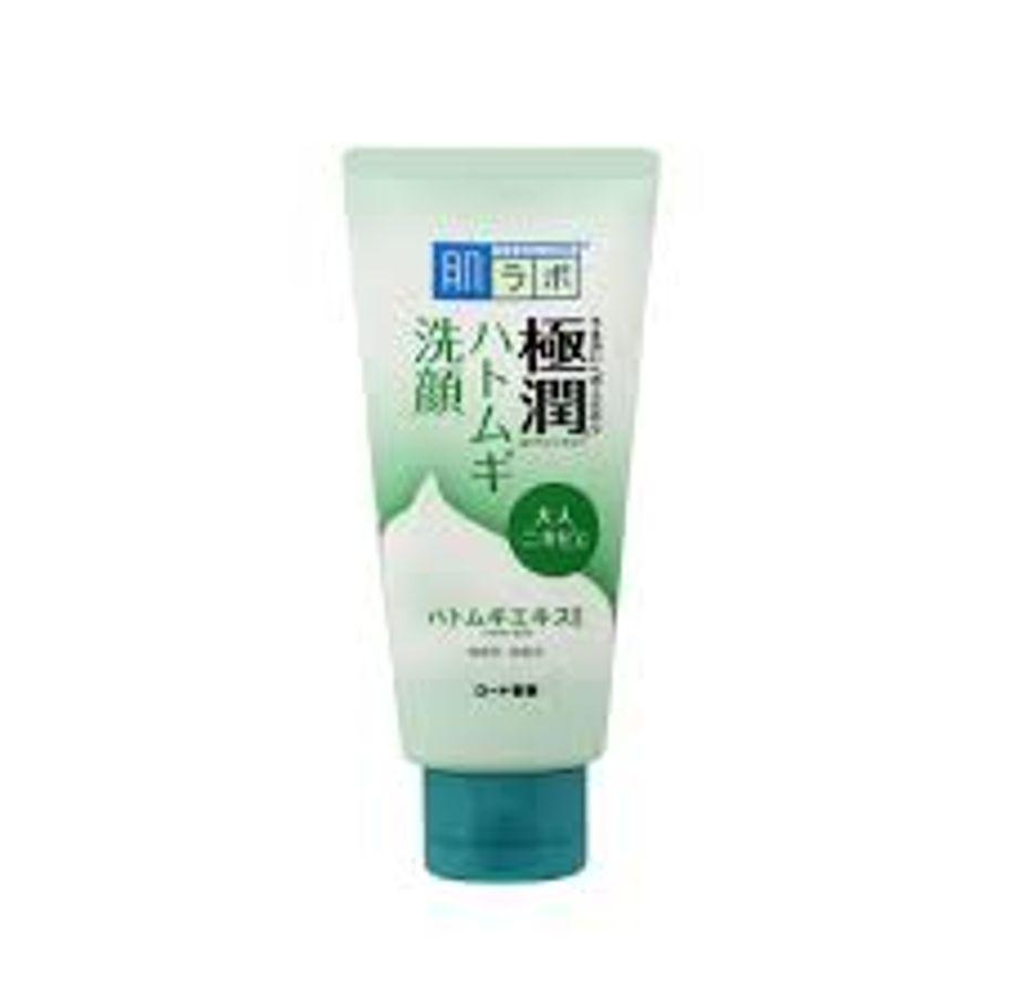 Sữa Rửa Mặt Hada Labo Gokujyun  Face Wash 100g - Hỗ Trợ Da Nhờn Mụn