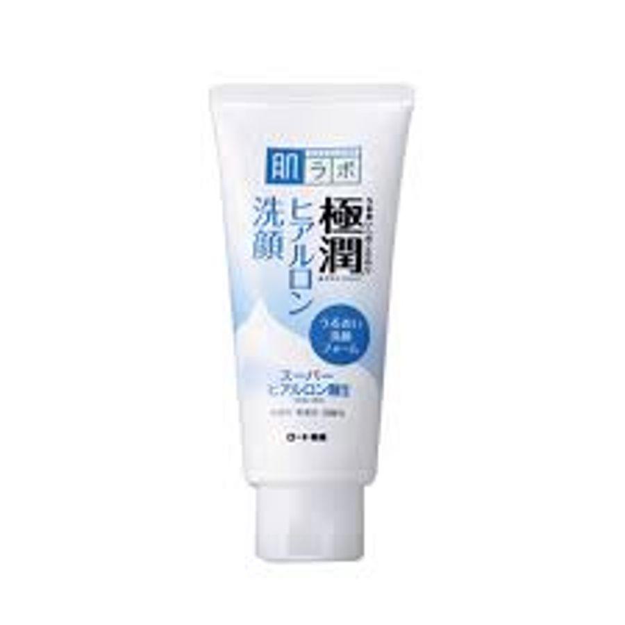 Sữa Rửa Mặt Hada Labo Gokujyun  Face Wash 100g - Hỗ Trợ Làm Trắng Da Thường Da Khô