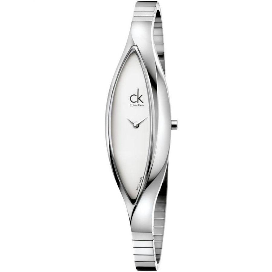 Đồng Hồ Nữ Calvin Klein CK K2C23120 Sensitive White Dial Ladies