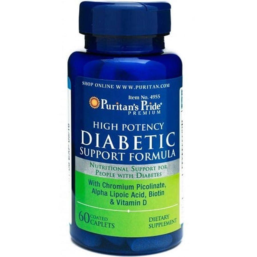Viên Uống Hỗ Trợ Cân Bằng Đường Huyết Diabetic Support Lọ 60v