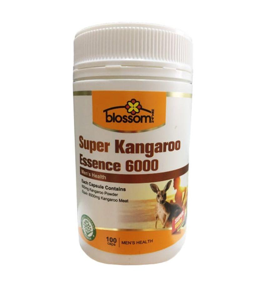 Viên Uống Hỗ Trợ Sinh Lý Nam Giới Blossom Super Kangaroo Essence 6000